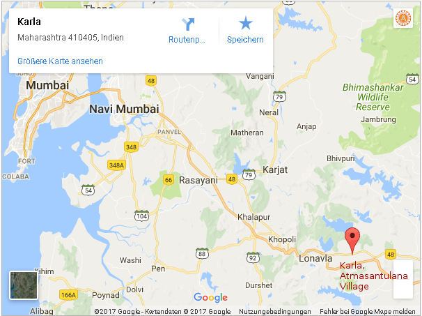 google map mumbai karla